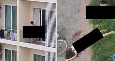 Casal cai do prédio e morre fazendo sexo! Será verdade? (foto: Reprodução/Facebook)