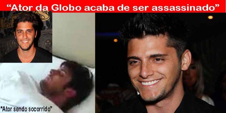 O ator Bruno Gissoni foi assassinado durante assalto?