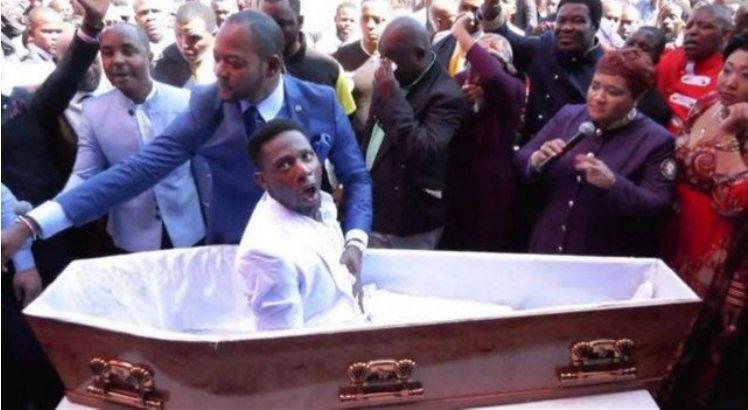 Pastor ressuscita um fiel dentro do caixão! Será verdade?