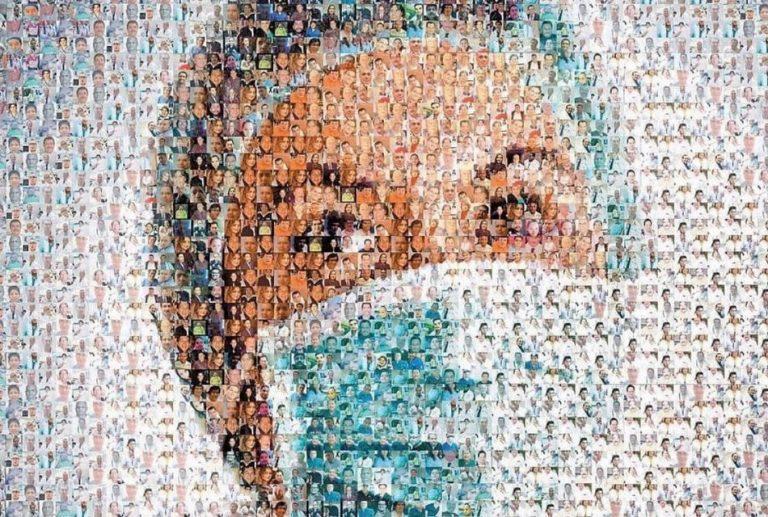 Mosaico mostra todos os profissionais de saúde que morreram pela COVID-19 no Brasil?