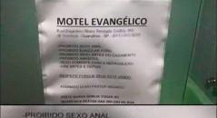 Motel Evangélico em Guarulhos (SP). Será verdade? (foto: Reprodução/Facebook)