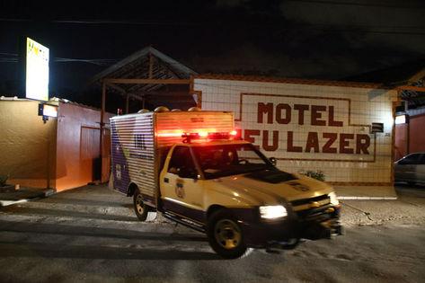 Foto original se refere a uma morte real que ocorreu em um motel em Manaus (foto: Reprodução/)