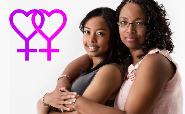 Mary e Vertasha Carter: Mãe e filha em relacionamento homoafetivo! Verdade ou farsa? (foto: Reprodução/Facebook)