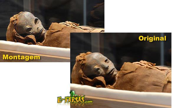 Foto original da múmia!