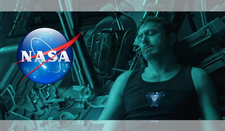 A NASA respondeu aos pedidos dos fãs para salvar Tony Stark?