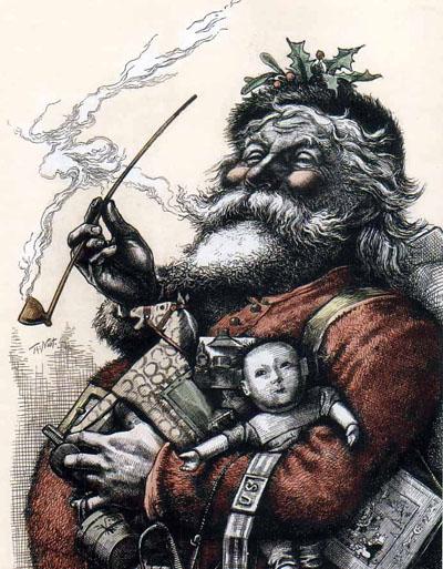 Papai Noel de Thoma Nast
