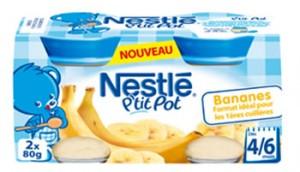 nestle - Food Banana Bebê contem pedaços de vidro! Será?