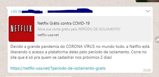 A Netflix liberou o acesso aos filmes da plataforma por causa do coronavírus?