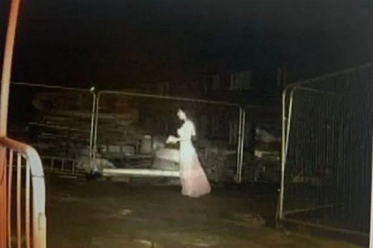 Noiva fantasma foi registrada por câmera de segurança em Birmingham, na Inglaterra?