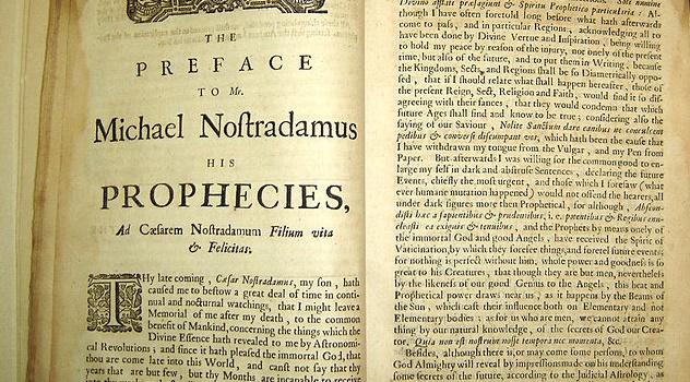 """""""As Profecias"""" de Nostradamus! (foto: Reprodução/Google)"""
