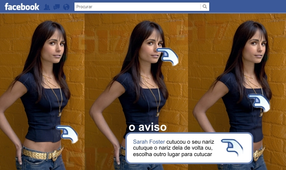 Nova Cutucada no Facebook