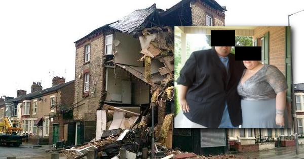 Casal obeso derrubou um prédio durante o ato sexual! Será?