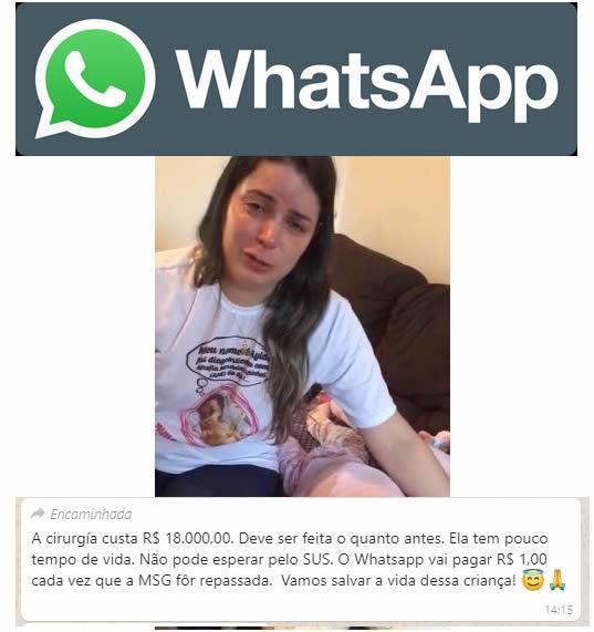 Mãe pede ajuda para filha com Amiotrofia Muscular Espinhal pelo WhatsApp! Será?