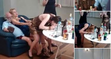 Ator Tonico Pereira consumindo cocaína com atrizes da Rede Globo! Será Verdade? (fotos: Reprodução/Facebook)