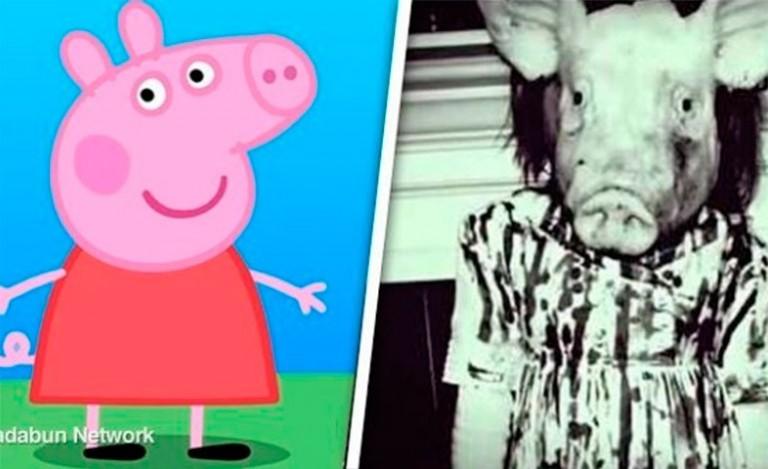 A verdadeira e horripilante origem da Peppa Pig!