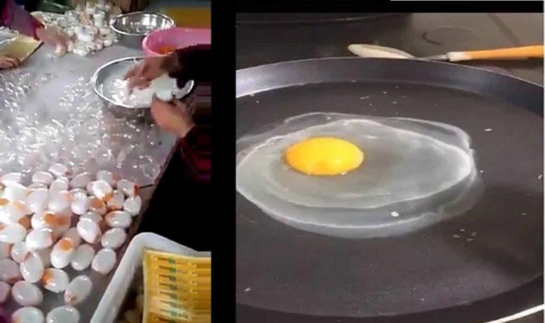 Vídeos mostram fábricas de ovos falsos de plástico! Será verdade?