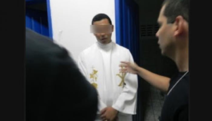 Um padre maranhense foi preso por se recusar a realizar um casamento gay?