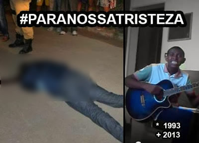 Jovem cantor teria sido morto a facadas! Será verdade? (foto: Reprodução/Facebook)