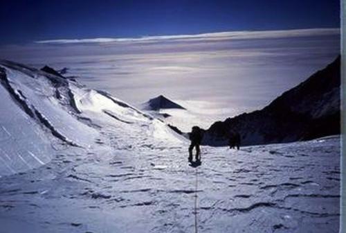 Piramide teria sido encontrada na Antártida!