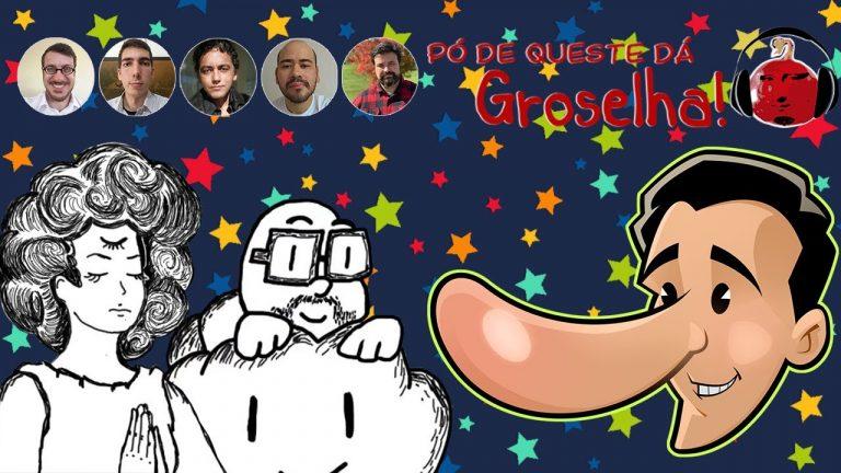 Ouça a participação do @Efarsas e do @Meteoro_br no Podcast da Groselha!