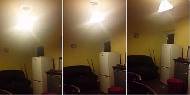 Atividade paranormal captada por câmera na Irlanda! Será verdade? (fotos: Reprodução/YouTube)