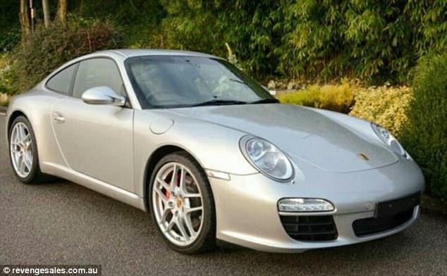 Esposa traída anuncia Porsche de marido infiel bem baratinho na web! Será verdade? (Foto: Reprodução/Facebook)