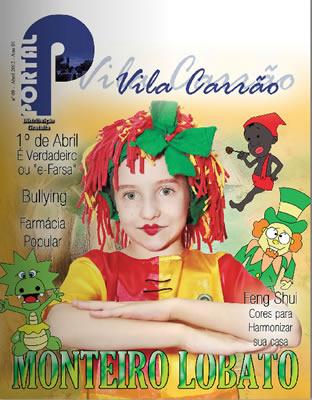 Capa da revista Portal Vila Carrao - Abril de 2012