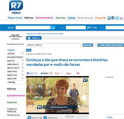 Portal R7 - Rosana Indica