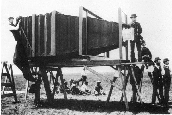 Essa foi a primeira câmera fotográfica do mundo?