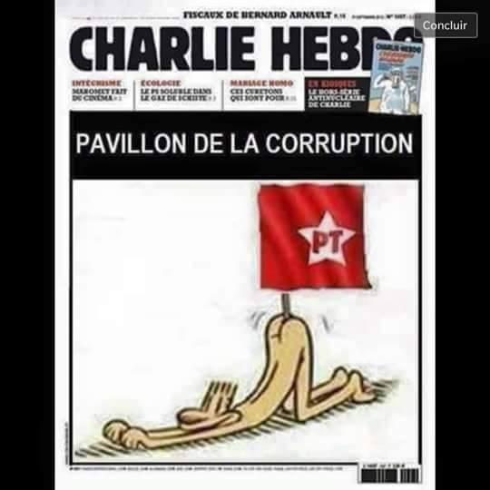 Capa da revista polêmica estaria satirizando o PT e o Brasil! Será verdade?