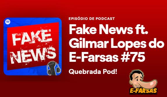 Ouça a participação do @efarsas falando sobre fake news no Quebrada Pod!