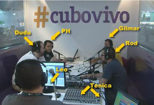 Gravação do Radiofobia com Gilmar Lopes na Campus Party!