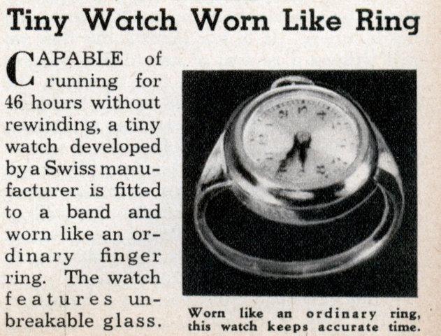 Relógio de dedo