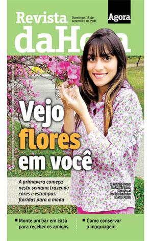 Capa da Revista da Hora - do Jornal Agora - citando o E-farsas