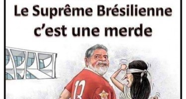 Jornal satírico francês estaria criticando a Justiça brasileira! Será verdade?