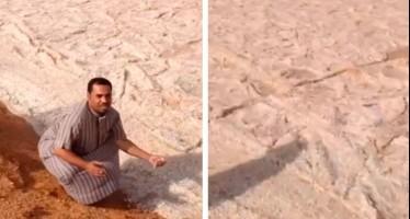 Rio de areia?!! Verdade ou farsa? (foto: Reprodução/YouTube)