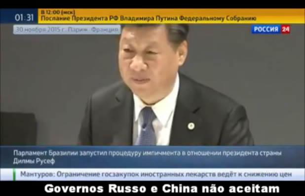 China e Rússia não reconhecem o Governo Temer?