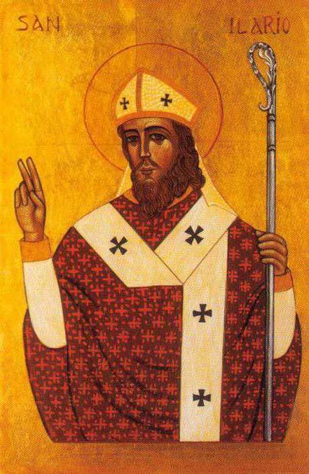 Santo Hilário, bispo de Poitiers (foto: reprodução/internet)
