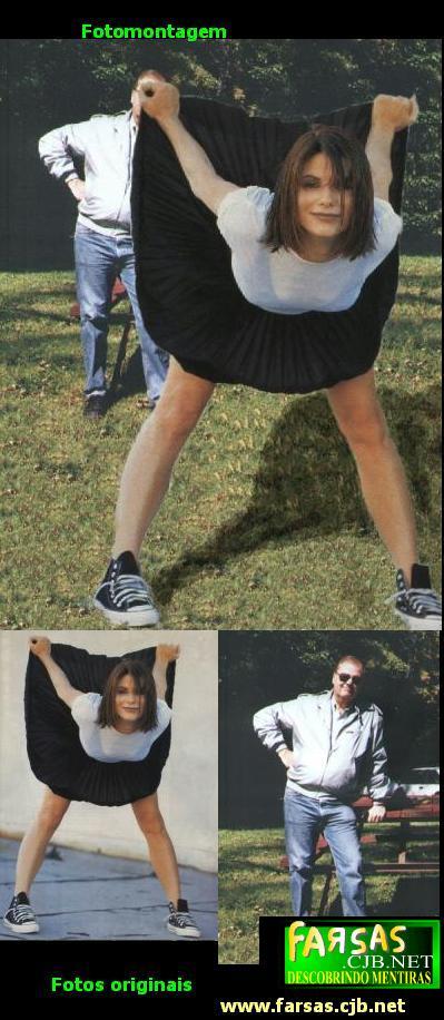 Sandra Bullok levantando a saia é mais uma montagem da web