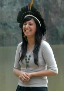 A jornalista Sandra Terena! (foto: Divulgação)