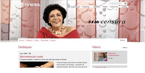 Leda Nagle comanda o Programa Sem Censura na TV Brasil
