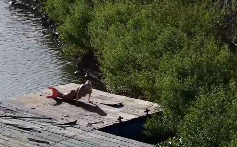 """Vídeo mostra uma """"sereia"""" filmada na Amazônia! Será verdade?"""