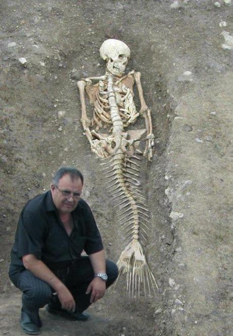 Sereia encontrada na Bulgária - Será?