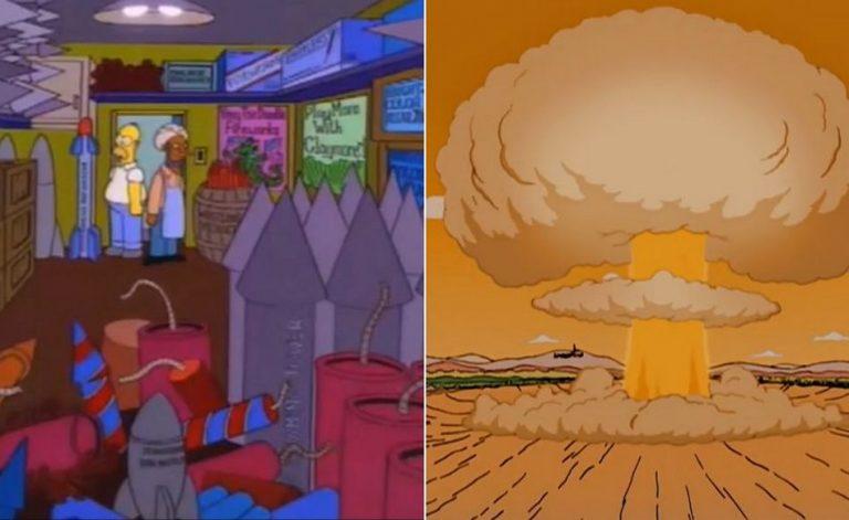 Os Simpsons previram a grande explosão ocorrida em Beirute, no Líbano?