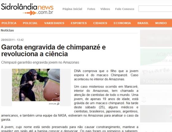 Jornal Sidrolândia News - A mesma notícia!