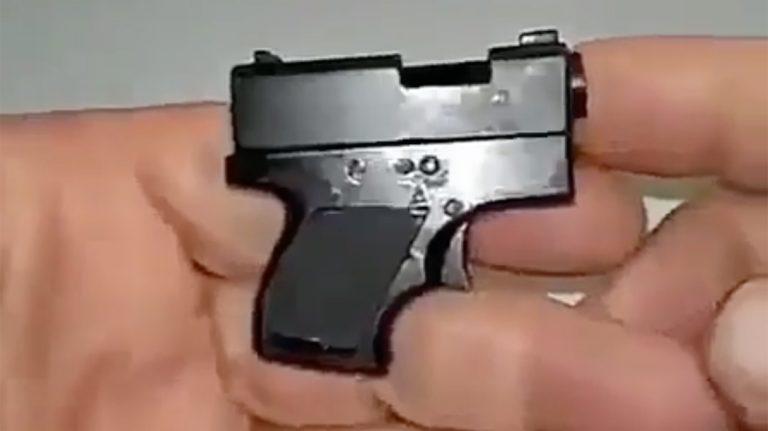 Bandidos estão usando a arma Taurus SPECTRUM 380, a menor do mundo, para assaltos?