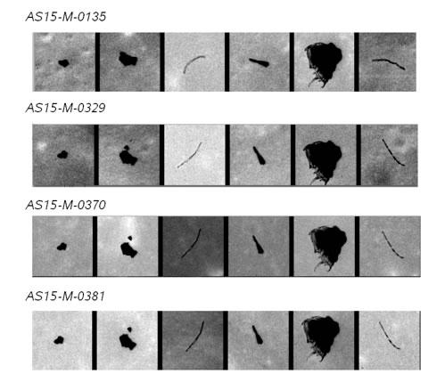 Pequenas sujeira nos scanners da Universidade do Arizona causam essas deformidades nas images!