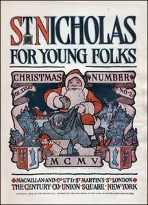 St Nicholas de 1905 - note que o Papai Noel já usava vermelho! Copyright © 2002-2011 St. Nicholas Center