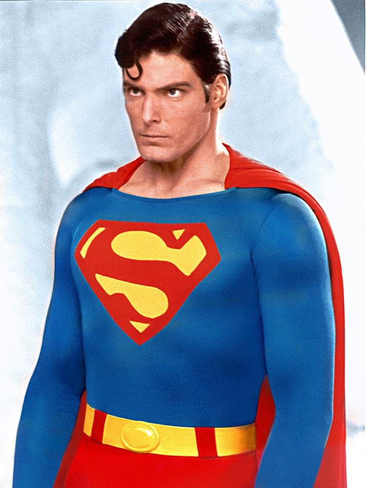 Christopher Reeve foi um dos atores mais marcantes no papel do homem de aço! (foto: Divulgação)