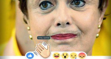 """Facebook lança o botão de reação """"Tchau Querida!"""" em comemoração à saída de Dilma! Será verdade? (foto: Reprodução/Facebook)"""